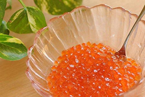 チーナ カナダ/アメリカお土産 冷凍 サーモンキャビア(いくら) 1個 冷凍 味付き 天然細切り数の子昆布 100g 2個