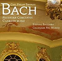 Bach: Recorder Concertos and Chamber Music by Bagliano (2014-03-04)