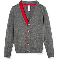 Kid Nation Boys' Sweater Long Sleeve Cardigan Cotton Casual School Uniforms Sweater