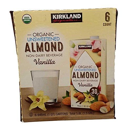 オーガニック バニラアーモンドミルク 946mlx6本入 カークランドシグニチャー