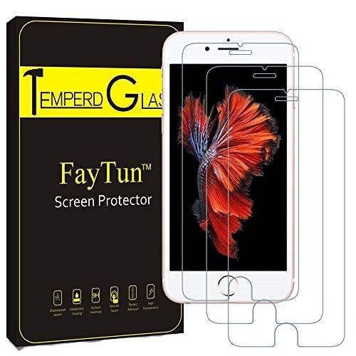 iPhone7 保護フィルム iPhone8 保護フィルム-FayTun(3...