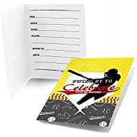 Grand Slam – Fastpitch Softball – Fillで誕生日パーティーベビーシャワーまたはInvitations ( 8 Count )