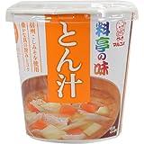 マルコメ カップ 料亭の味 とん汁 即席味噌汁 1食×6個