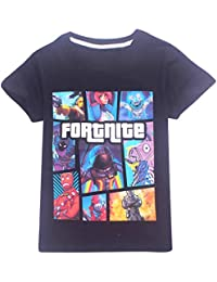 EMILYLE 子供 ボーイズ 児童 Fnite 半袖 Tシャツ ファッション アクティブウェア アクティブシャツ 個性 カットソー
