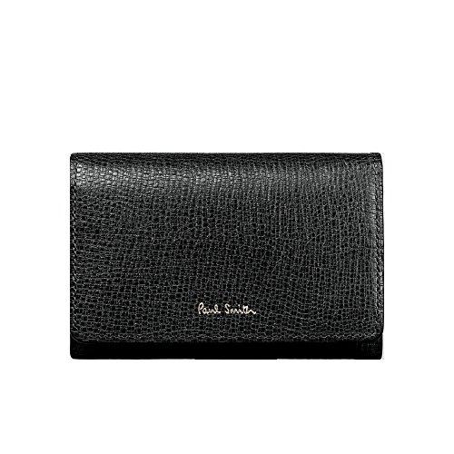 ポールスミス Paul Smith レディース 財布 リザードエンボス 名刺入れ カードケース (ブラック)