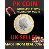 SUPER STRONG MAGNETIC £ 2 - TWO POUND MAGNETIC - 手品のCOIN - SUPER STRONG MAGNETIC £2 - TWO POUND MAGNETIC - MAGIC TRICK COIN