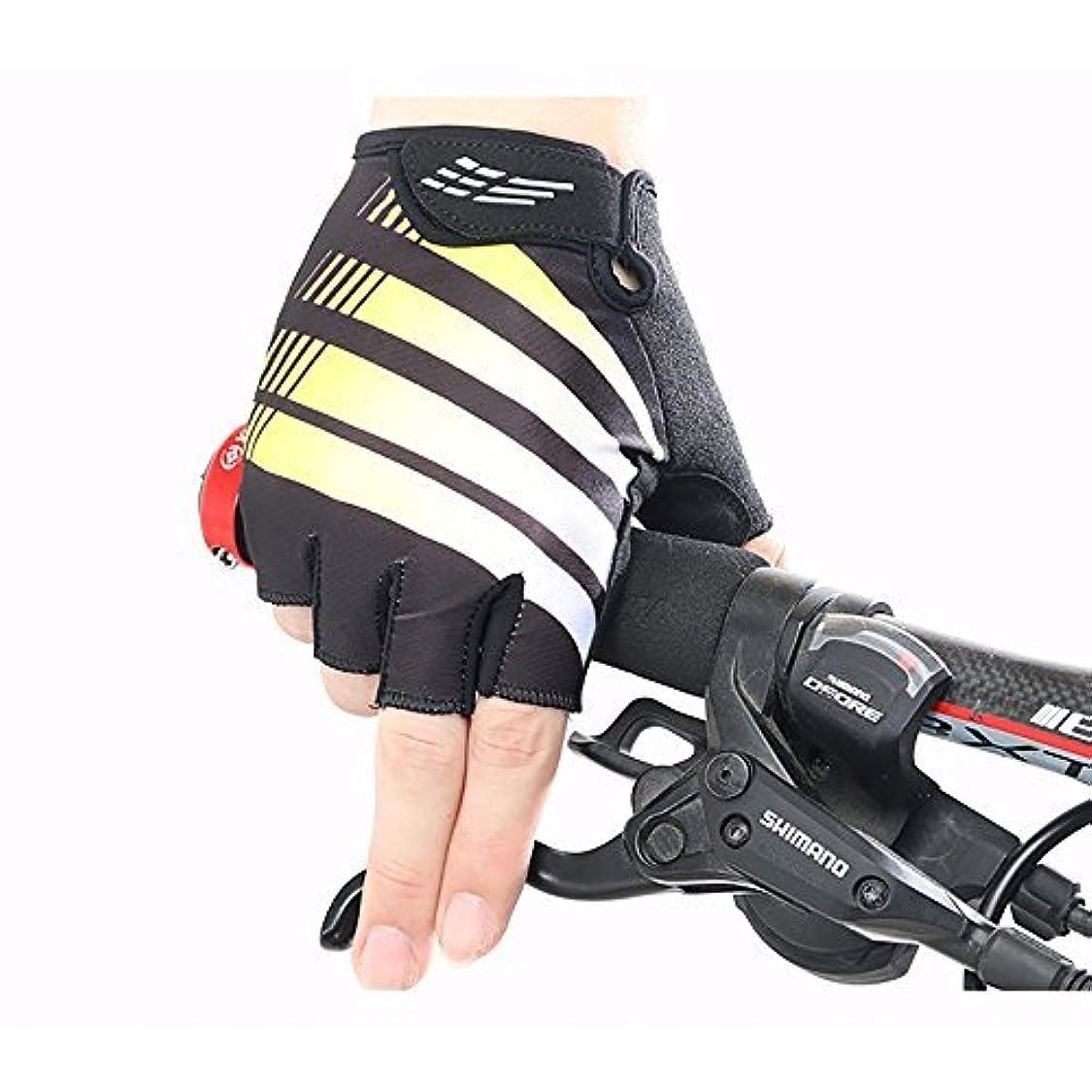 技術的な保持ライトニングWolfmen 全15色 サイクリンググローブ 3D立体 自転車グローブ ハーフフィンガーグローブ 吸水速乾素材 通気性 正規品 軽い 自転車用手袋 自転車グローブ かっこいい 個性 男女兼用