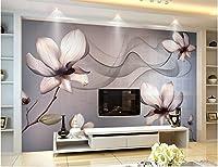 Wapel 壁は家の装飾のための 3 次元立体壁紙透明花ファンタジーの古典壁紙 絹の布 200x140CM