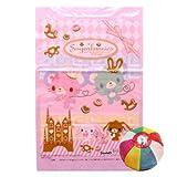 綿菓子袋 シュガーバニーズ【2012ver】(100入) / お楽しみグッズ(紙風船)付きセット [おもちゃ&ホビー]