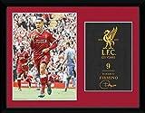 リバプール(Liverpool) 17-18 フィルミーノ オフィシャル 額入りフォト(406×305mm)PFC2736