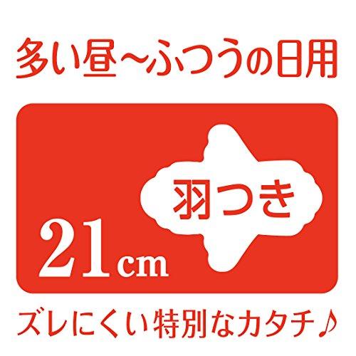『エリス Megami 素肌のきもち スリム 羽つき 21cm (多い昼~ふつうの日) 78枚(26枚入×3パック) 【まとめ買い】』の1枚目の画像