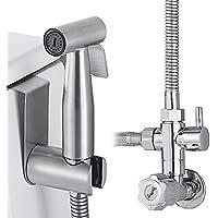 Scorpiuse1_jp トイレ シャワーヘッド ノズル ホース シャワーフック セット 手持ちビデスプレー 多機能 消臭 抗菌 浄水 節水 水流調整 衛生管理