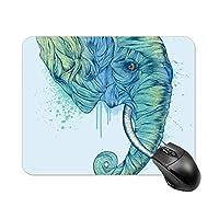 象の鼻マウスパッド ゲーミング オフィス最適 高級感 おしゃれ耐久性が良 付着力が強い20x25x0.3cm
