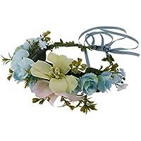 Lovoski 全3色 ヘアバンド ティアラ 結婚式 パーティ お祭り 調整可能 ヘアアクセサリー