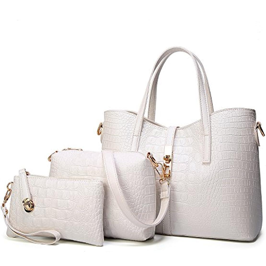 空白おばあさんモーター[TcIFE] ハンドバッグ レディース トートバッグ 大容量 無地 ショルダーバッグ 2way 財布とハンドバッグ