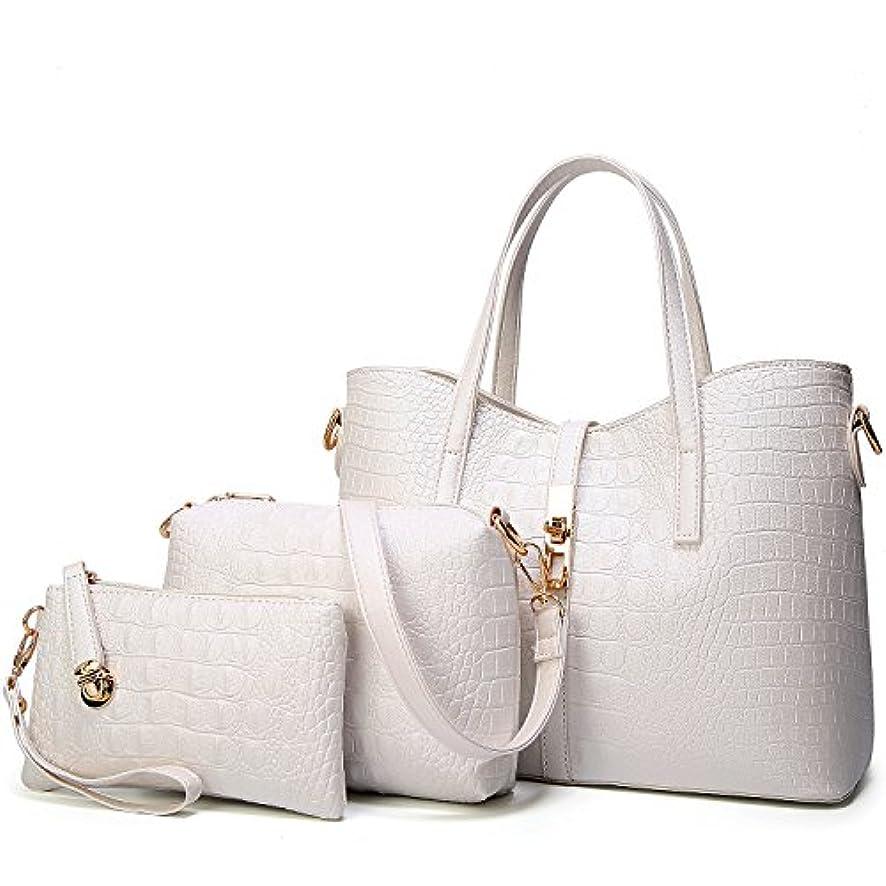 バックアップコマース欺く[TcIFE] ハンドバッグ レディース トートバッグ 大容量 無地 ショルダーバッグ 2way 財布とハンドバッグ