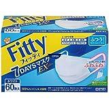フィッティ 7DAYSマスク EXプラス 60枚入 ホワイトふつうサイズ