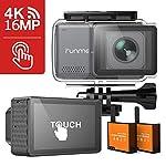 【さらに4,500円OFF!】RUNME R3 - 2.45インチ液晶採用4K録画対応アクションカメラ