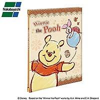 かわいいディズニーキャラクターのフエルアルバム♪ ナカバヤシ フエルアルバム ディズニー A4サイズ くまのプーさん ア-A4P-150-2 〈簡易梱包