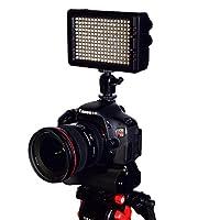 Axrtec AXR-204B LED オンカメラライト (ブラック)