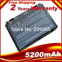 Laptop Battery For ASUS X5D X5DAB X5DAF X5DC X5DI X5DID X5DIP X5DIE X5DIJ X5DIN X5DAD K60I K61IC-A1