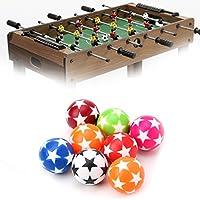 Manyao 2本の32ミリメートルプラスチックテーブルサッカーボールサッカーフーズボールFussball機械部品