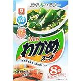 わかめスープ わくわくファミリーパック 8袋 フード 加工食品・惣菜 スープ・シチュー [並行輸入品]