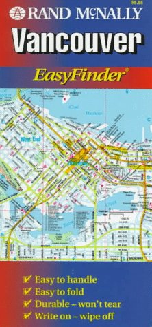 Download Rand McNally Vancouver: Easyfinder (Easyfinder Map) 0886405157