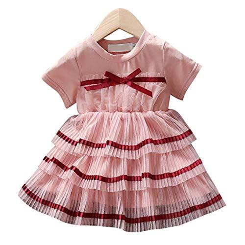 a045f7ccf40 Candykids ベビー服 子供服 ワンピース プリンセスドレス 韓国風 無地 女の子 可愛い 半袖 春秋 チュールスカート