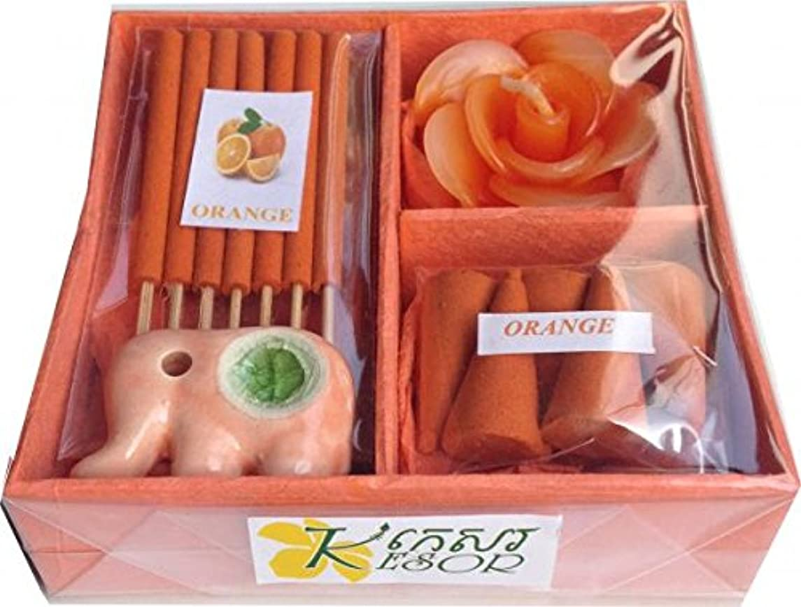 コーラス円周参照KesorオレンジIncense Cones Mixed Variety PackアロマSpa香りMini Assorted天体セット