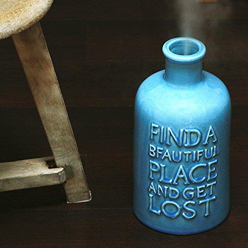 加湿器に見えない!陶器製のフランス風・北欧風アロマ超音波式加湿器
