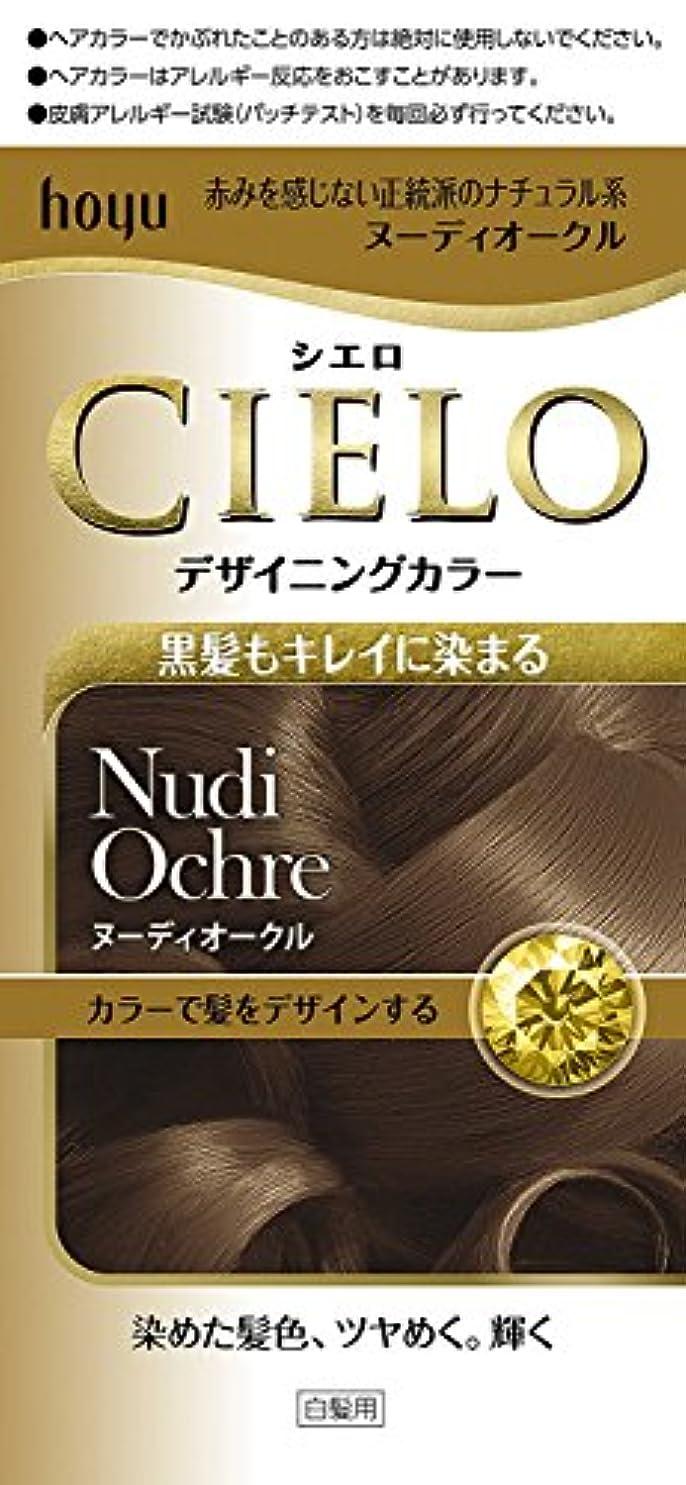 インディカ肌寒い結婚するホーユー シエロ デザイニングカラー (ヌーディオークル) ×3個
