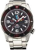[オリエント]ORIENT 腕時計 M-FORCE エムフォース 2015年ニュルブルクリンク24時間耐久レース優勝記念モデル 機械式 自動巻き(手巻き付き) ブラック WV0211EL メンズ