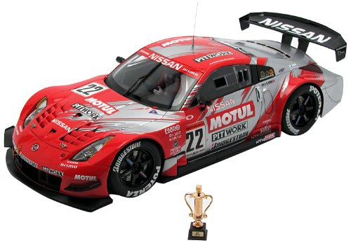 AUTOart 1/18 日産 フェアレディZ (Z33)'04 JGTC #22 (モチュール)※スペシャルリミテッドエディション 完成品