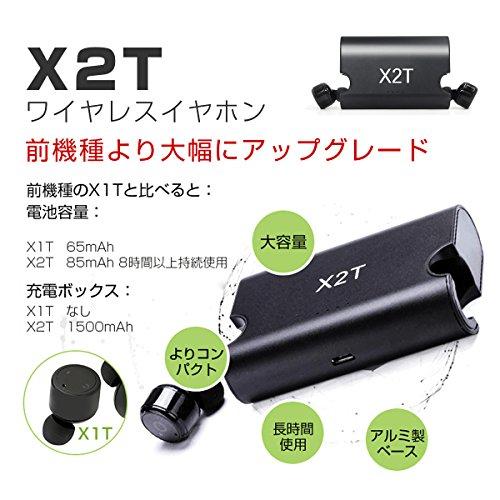 TAROME Bluetooth イヤホン ワイヤレス イヤホン スポーツ 片耳 両耳とも対応 高音質 ワンボタン設計 軽量 マイク内蔵 通話可 防汗 防滴 iPhone Android 対応