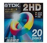 3.5インチ2HD-FD 20枚パック TDK MF2HD-256X20PS