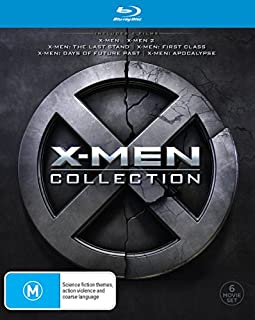 X-Men 6 Movie Collection [6 Disc] (Blu-ray) (B07D7VVK5B) | Amazon price tracker / tracking, Amazon price history charts, Amazon price watches, Amazon price drop alerts