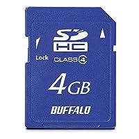 BUFFALO Class4 SDHCカード 4GB RSDC-S4GC4B