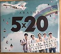 JAL 嵐 国内線限定販売 5×20 アルバム 現品 EC113
