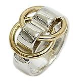 HERMES(エルメス) ドゥザノー リング SV K18 指輪 コンビ ゴールド シルバー ...