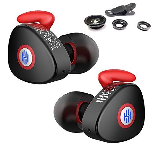 HOT SKY Bluetoothイヤホン 高音質 完全ワイヤレス ワンボダン操作 マイク付き R3