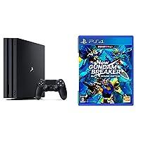 PlayStation 4 Pro ジェット・ブラック 1TB (CUH-7100BB01)+New ガンダムブレイカー ビルドGサウンドエディション...