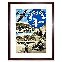 Memorabilia Morris Motors Modern Fast Plane Train Car Framed Wall Art Print モーター飛行機列車壁