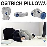 オーストリッチピロー レギュラーサイズ ブルー かぶるまくら お昼寝枕