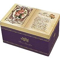 ブック型 オルゴール BOX [リング差し付き] ローズ (美女と野獣) G-6312R