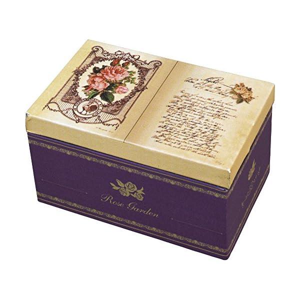 ブック型 オルゴール BOX [リング差し付き]...の商品画像