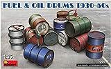 ミニアート 1/35 燃料&オイル ドラム缶セット 1930-50年代 プラモデル MA35613