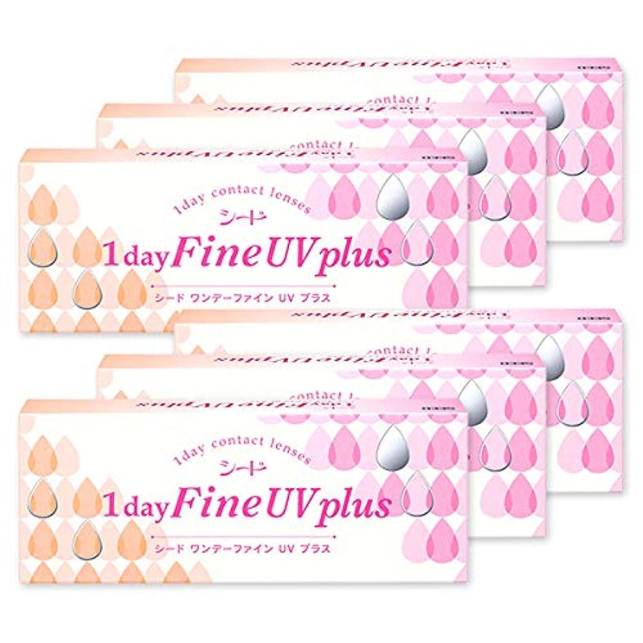 助手現れるフォージSEED ワンデー ファイン UV Plus プラス 1day 【BC】8.7【PWR】-8.00 6箱