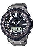 [カシオ] 腕時計 プロトレック アングラーライン スマートフォンリンク PRT-B70T-7JF メンズ グレー