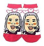 [ゆりやんレトリィバァ]レディースソックス・靴下 約22~24cm YO10